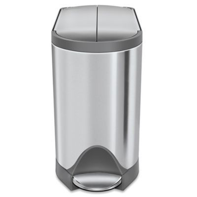 Simplehuman 10 Liter Butterfly Step Trash Can Brushed Stainless