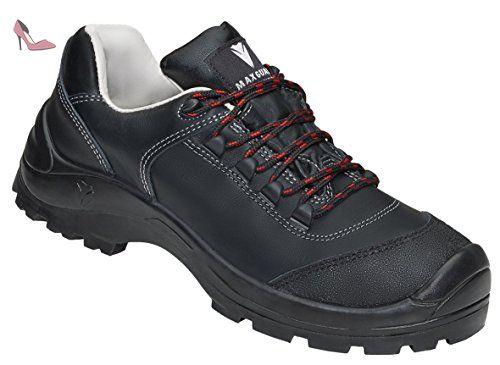 Max Guard C320 Clément S3 SRC Chaussures de sécurité, cuir de vachette,  imperméable Taille 38–50 - noir - Schwarz, 48 EU - Chaussures maxguard (*Pa…