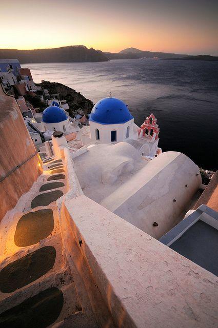 Magical #Sunrise in #Oia, #Santorini, #Greece!