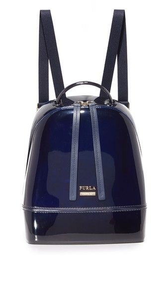 FURLA Candy Small Backpack. #furla #bags #leather #backpacks #