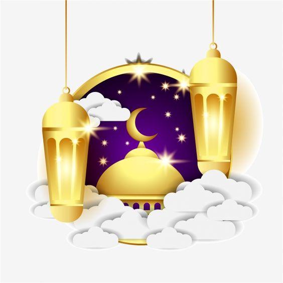 صور رمضان 2021 بطاقات تهنئة لشهر رمضان المبارك Vœux De Ramadan Ramadan Image Vectorielle