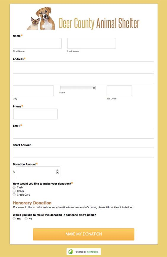 Online Donation Form  Acdd Brief