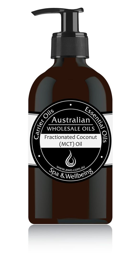 AWO - Fractionated Coconut (MCT) Oil, $9.90 (http://www.awo.com.au/fractionated-coconut-mct-oil/)