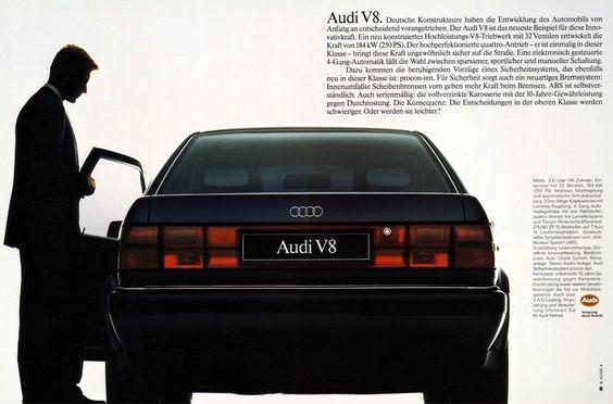 Audi V8 (1988) Typ 4C 3.6 32V Quattro | von H2O74