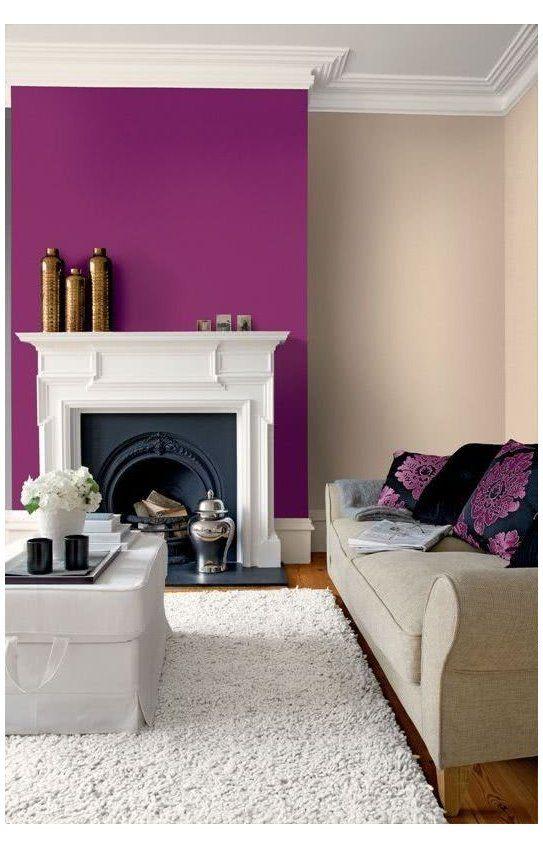 No Importa Que Tan Reducidos Sean Tus Espacios Lo Unico Que Necesitas Para Embellecerlos Colourful Living Room Decor Living Room Wall Color Classy Living Room