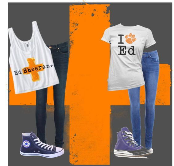 """""""Going to an Ed Sheeran Concert"""" by sierrarene ❤ liked on Polyvore"""