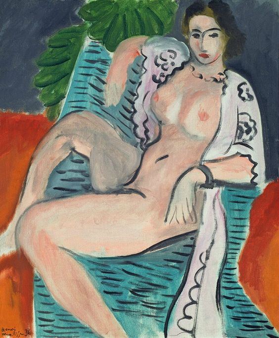 Henri Matisse, Draped nude (Femme nue drapée), 1936, oil paint on canvas, 45.7 × 37.5 cm. Tate: Purchased 1959 © Succession H Matisse. Licensed by Viscopy, Sydney. Image © Tate, London 2016