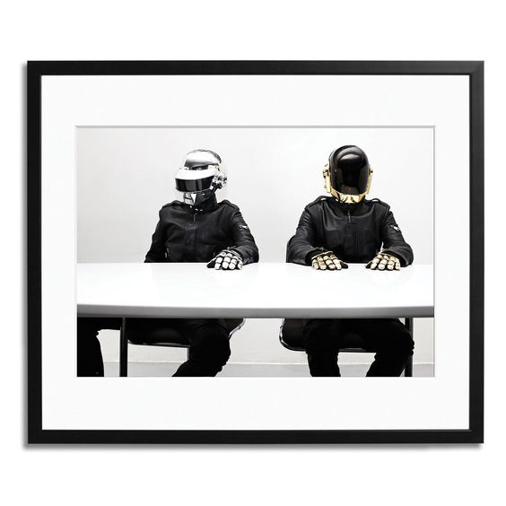 Daft Punk Paris Framed @ Fab.com
