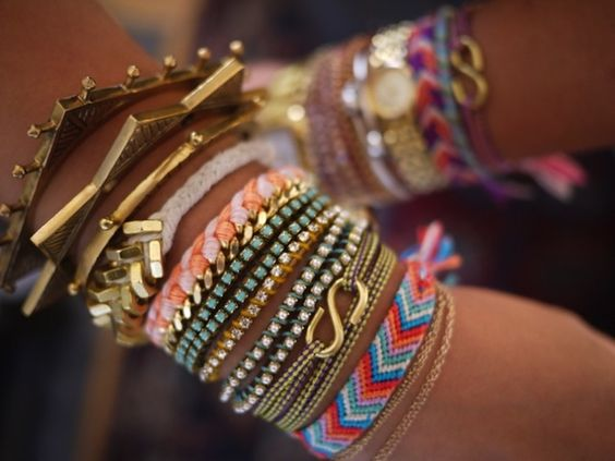 rings rings rings: Arm Candy, Stacked Bracelets, Arm Party, Armcandy, Love Bracelets, Diy Bracelet, Friendship Bracelets, Arm Candies, Armparty