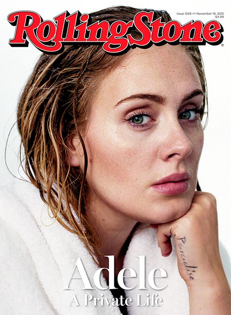Adele Goes Without Makeup for Rolling Stone