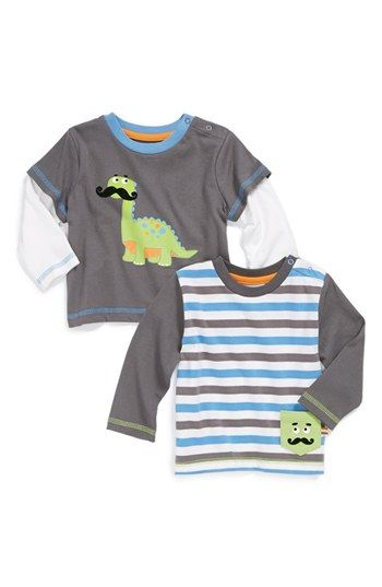 Moustache dinto tees for babies + toddlers - 50% off.