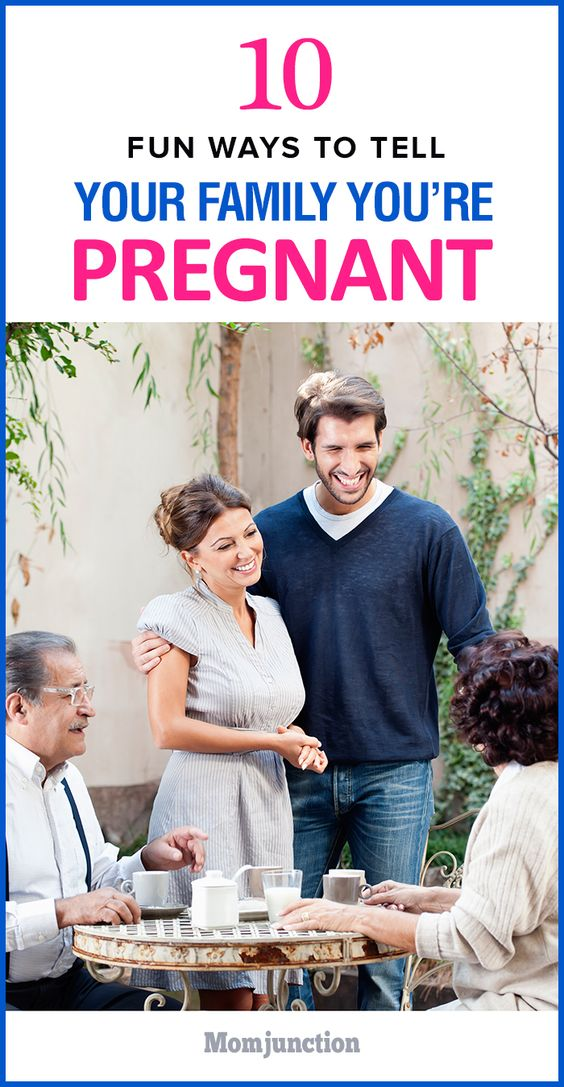 how to tell your partner you re pregnant