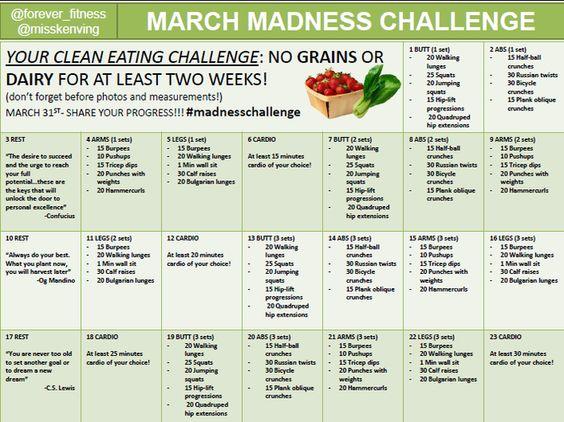 #MarchMadnessChallenge