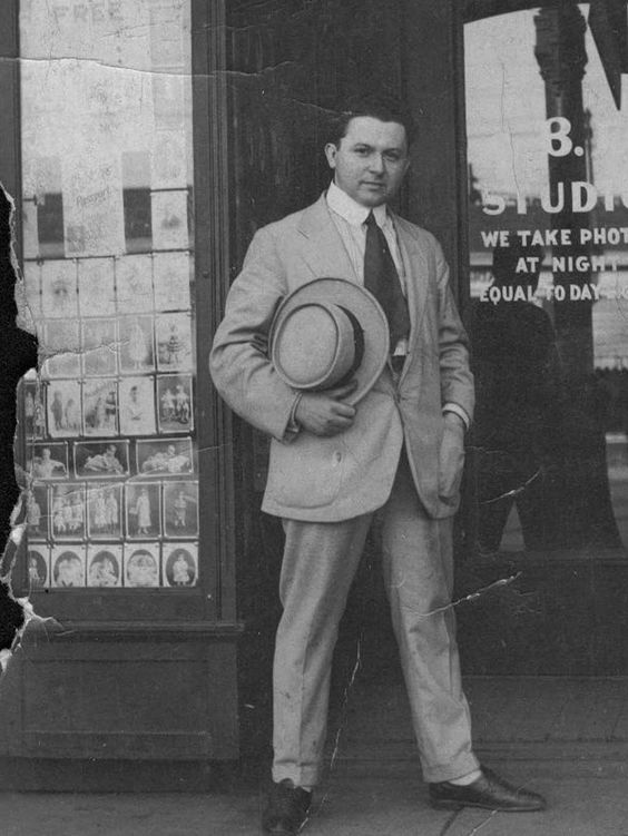 Abe Bernstein Leader Of The Purple Gang Toledo