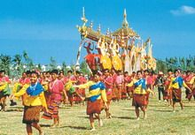 Thai Tradition & Festivals of Praying for Rain