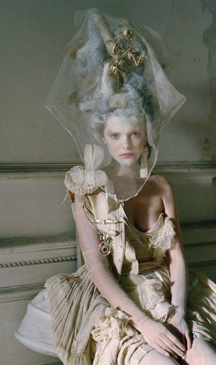 a-l-ancien-regime:  Lady Grey by Tim Walker,  Vogue Italia Mar 2010