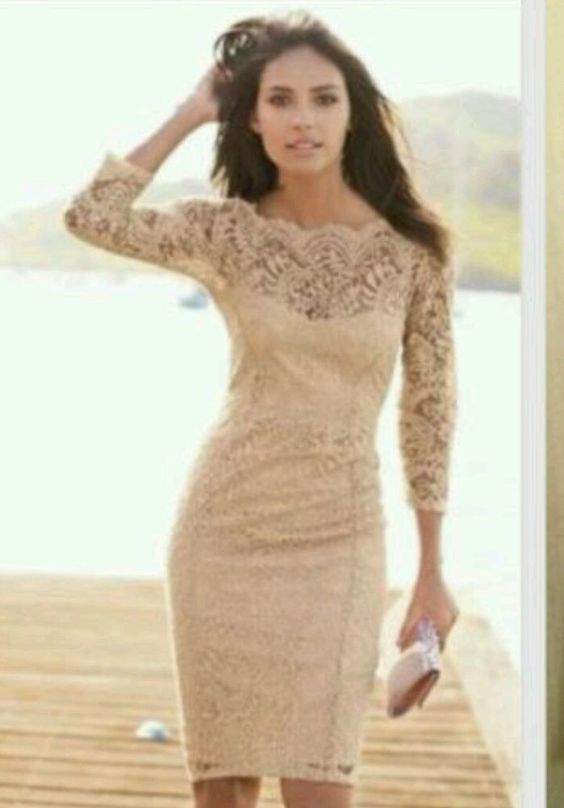 NEXT NUDE/NEUTRAL VINTAGE LACE DRESS SIZE 8 BNWT in Clothes- Shoes ...
