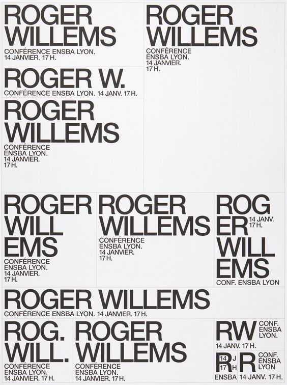 Laurent Peteuil Minimal Graphic Design Text Layout Typography Layout