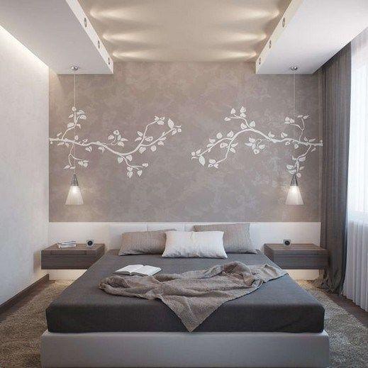30 Fantastic Modern Master Bedroom Ideas 1 Bedroom False Ceiling Design Ceiling Design Bedroom Simple Bedroom