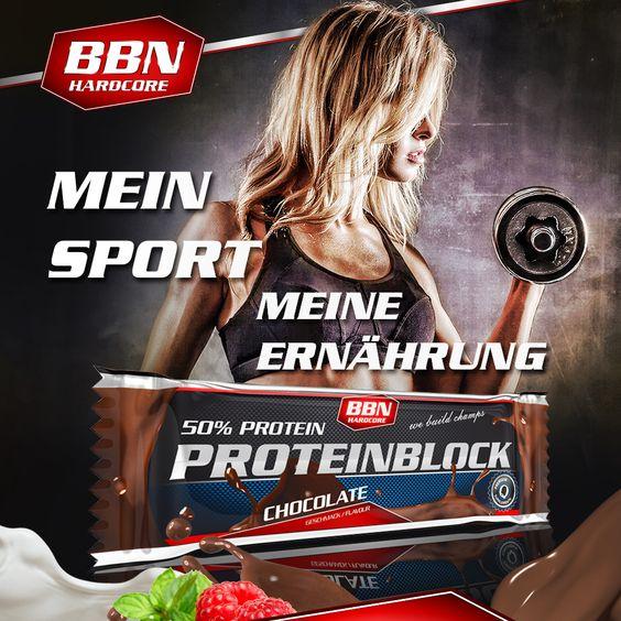 Unser beliebter #ProteinBlock zeigt sich ab jetzt im neuen Gewand - außen sexy, innen lecker. Der BBN-Hardcore Protein Block ist mit seinen 90 g und einem Eiweissanteil von bis zu 52 % ein echter Brocken.  http://shop.best-body-nutrition.com/de/bodybuilding-fitness-eiweiss-riegel-protein-block.php