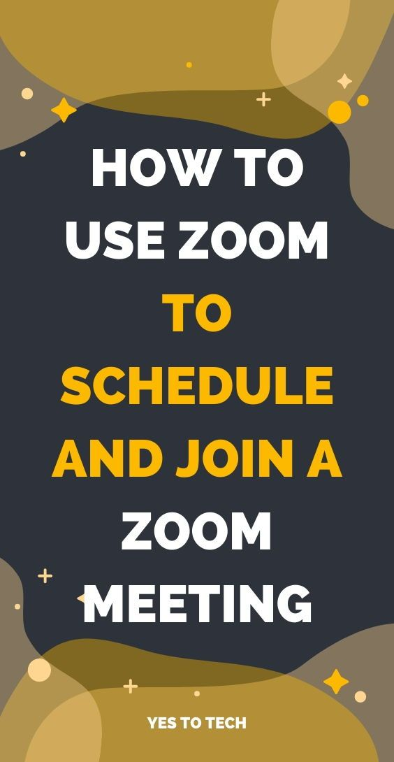 Zoom Meeting Tutorial How To Use Zoom To Schedule And Join A Zoom