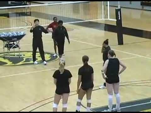 Kennesaw St University Volleyball Ball Control And Defense Drills Youtube Coaching Volleyball Volleyball Drills Volleyball Clubs