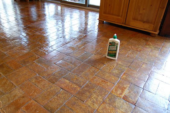Bring The Shine Back To My Split Brick Floor Without