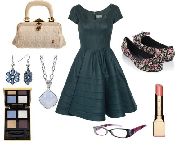 """Sophisticated Slate"" by peppermintmochamama on Polyvore"