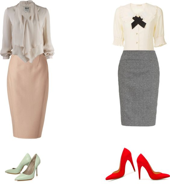 Conservative work outfits