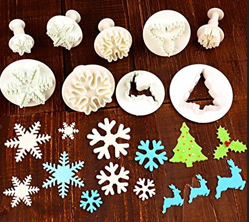 Fondant Cookies Cutter Home DIY Tree Shape Baking Mold Cupcake Decoration Tools