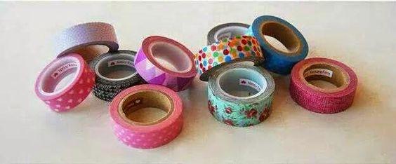decorar com fitas coloridas