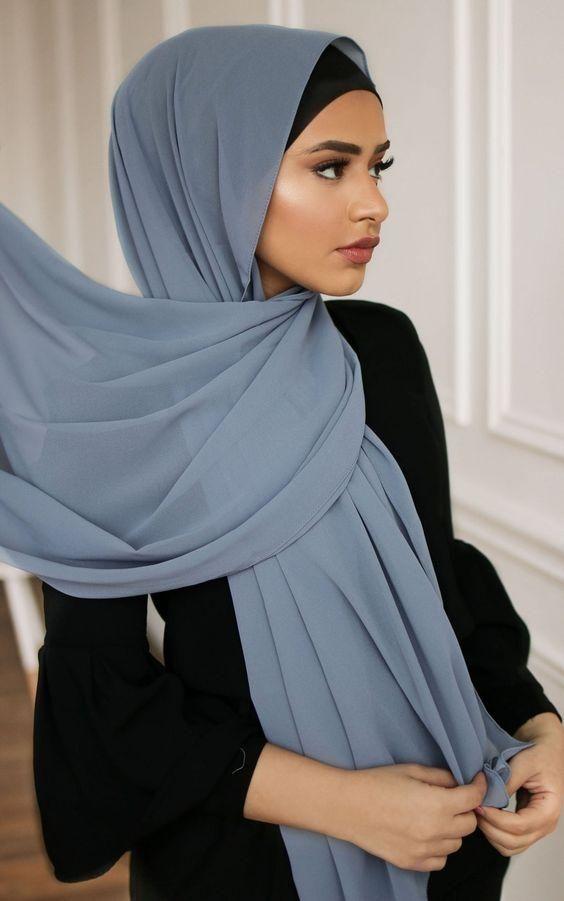 Pin By Arbadissa Emira Febriana On Inayah Hijab Hijab Scarf Hijab Style Casual Hijab Style Tutorial