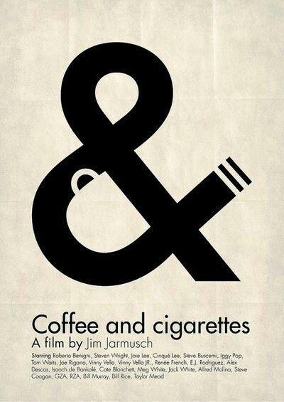 Movie poster Coffee ando cigarretes