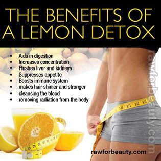 LEMON DETOX DRINK RECIPE   For a 1 Liter batch  1 ½ freshly squeezed lemons  1 ½ pinches of the Cayenne  Pure water   An average person carries around 10 to 20 pounds of toxins in their system every day. Many of these toxins cause health problems like fatigue, intestinal problems and constipation. The Lemon Detox Cleanse makes you feel healthier and also helps you lose weight
