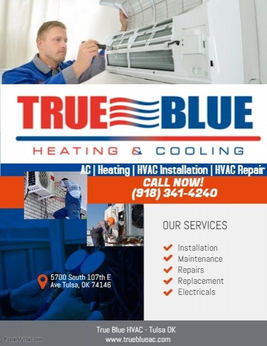 True Blue Is Tulsa S Ac Repair Experts We Are Tulsa S Residential