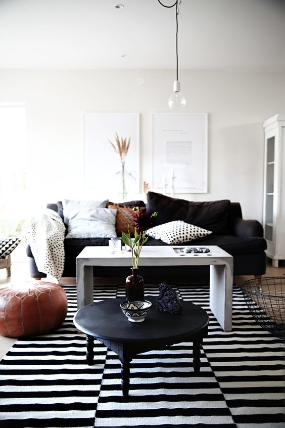 black white livingroom interior design sofas flooring ceiling lighting black white living room furniture