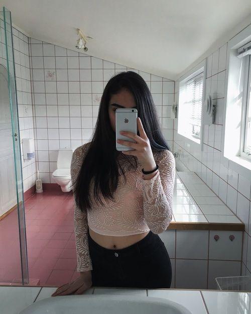 14 Ideas Para Selfies En Banos Publicos Poses Para Fotos Sexis