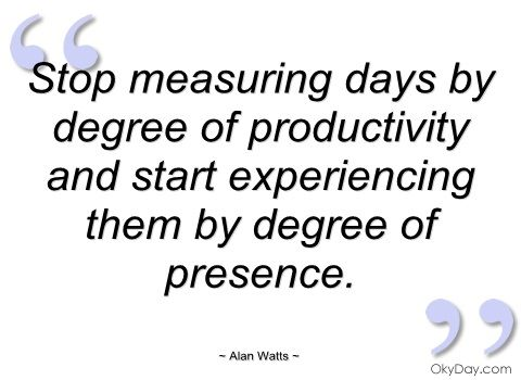 Alan Watts. If you've never heard his philosophies, you should look for some on Youtube. Very profound.