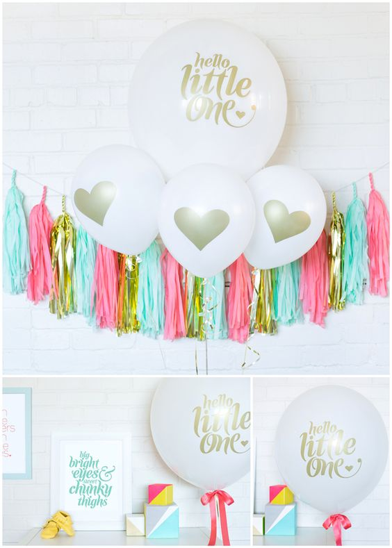 Cute party balloons by Betsy White for celebrations!