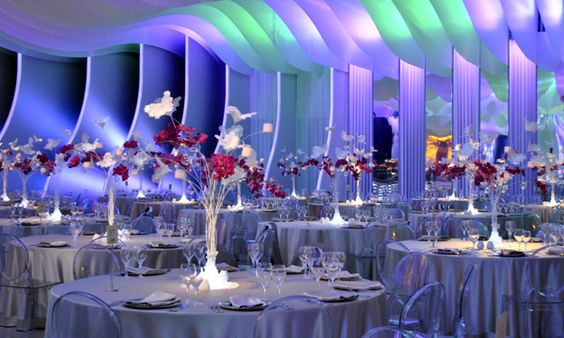 Presidential Gala Dinner Installation on the Pantone Canvas Gallery