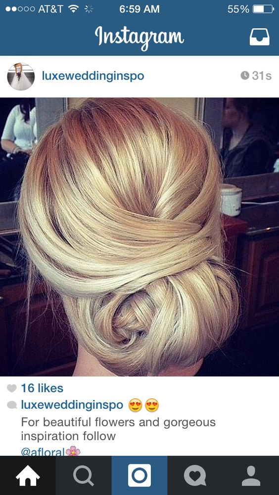 possible wedding updo