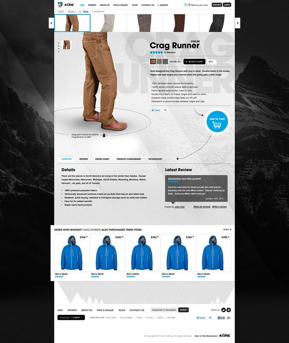 #shop #layout #clean #it #ecommerce #webdesign