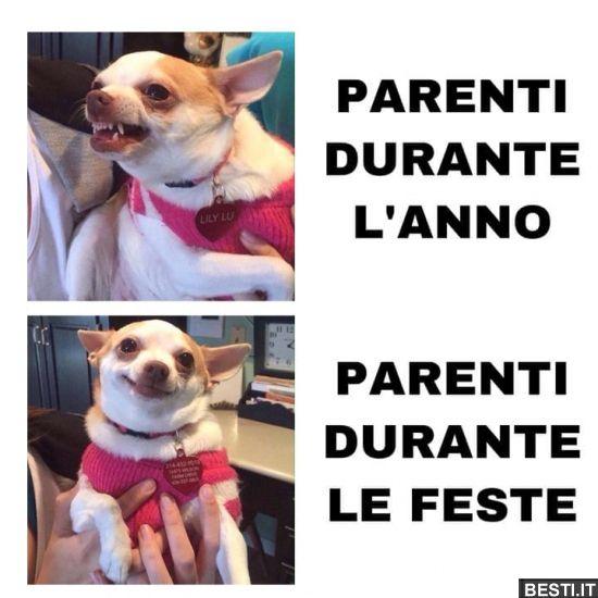 PARENTI DURANTE L'ANNO.. | Immagini divertenti, Divertente, Pensieri  divertenti