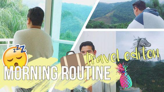 Morning Routine Travel Edition / Rotina da manhã em viagem💤✈️