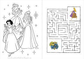 Princesas Disney Livrinho De Atividades Princesas Disney