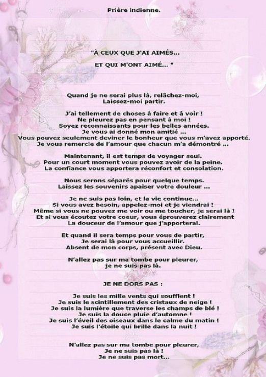J Ai Aimé Me Faire Toucher : aimé, faire, toucher, Prière, Indienne, #quotesbyemotions, #quotes, #emotions, Indienne,, Texte, Condoléances,, Priere