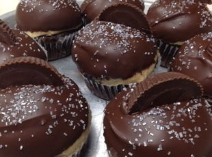 Reese Cup Cupcakes (Buckeye Cupcakes) Recipe