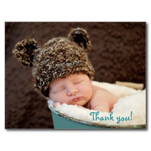 Baby gift thank you post card This site is will advise you where to buyDeals          Baby gift thank you post card Review from Associated Store with this Deal...