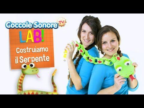 Costruiamo Il Serpente Con La Codina A Sonagli Coccole Sonore Lab Youtube Canzoni Per Bambini Coccole Youtube