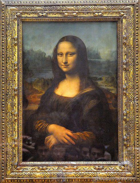 Gioconda - Leonardo da Vinci, Louvre, Paris